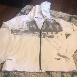 Roxy zip up sweatshirt